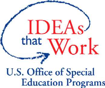 Logo, U.S. Office of Special Education Programs, Ideas that Work